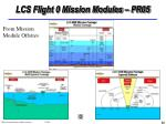 lcs flight 0 mission modules pr05