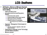 lcs seaframe