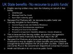 uk state benefits no recourse to public funds