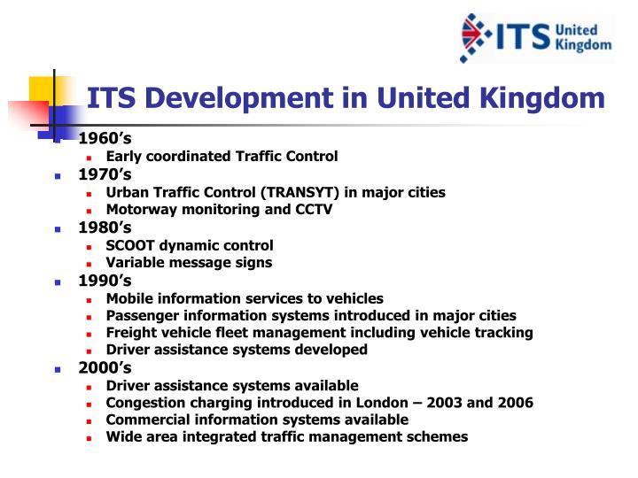 Its development in united kingdom