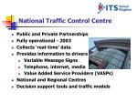 national traffic control centre