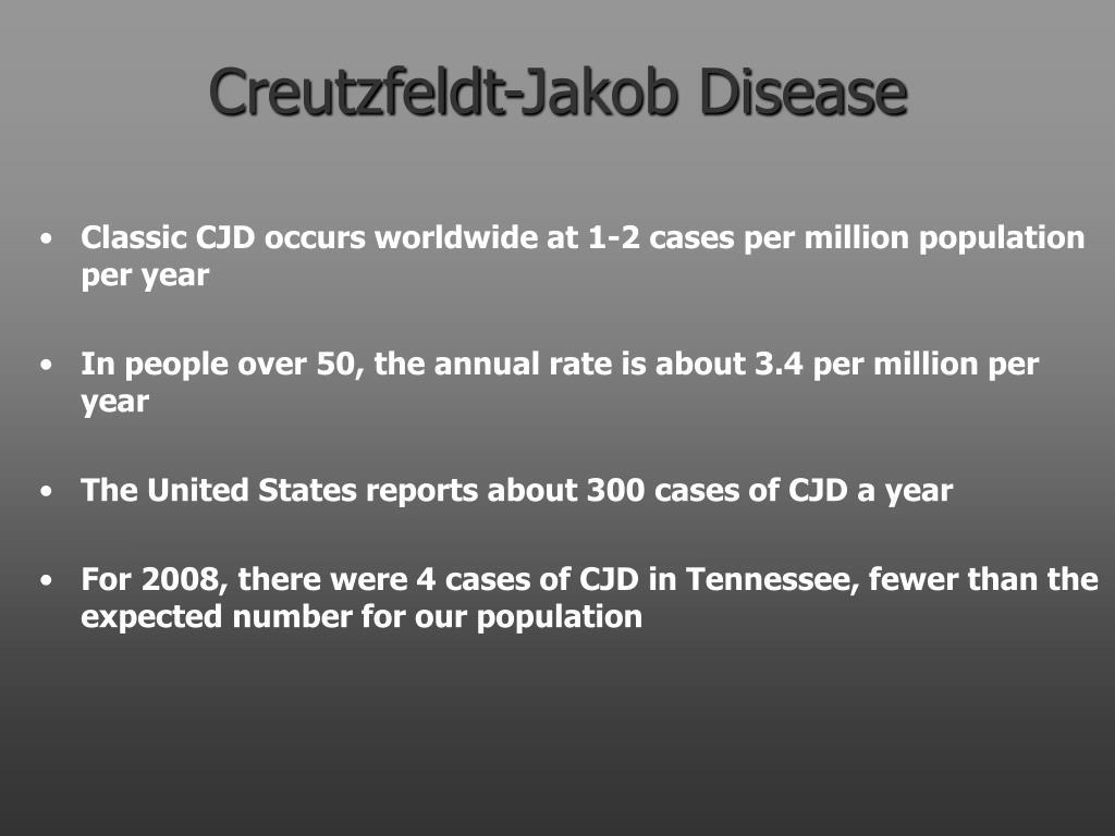 creutzfeldt jakob disease l.
