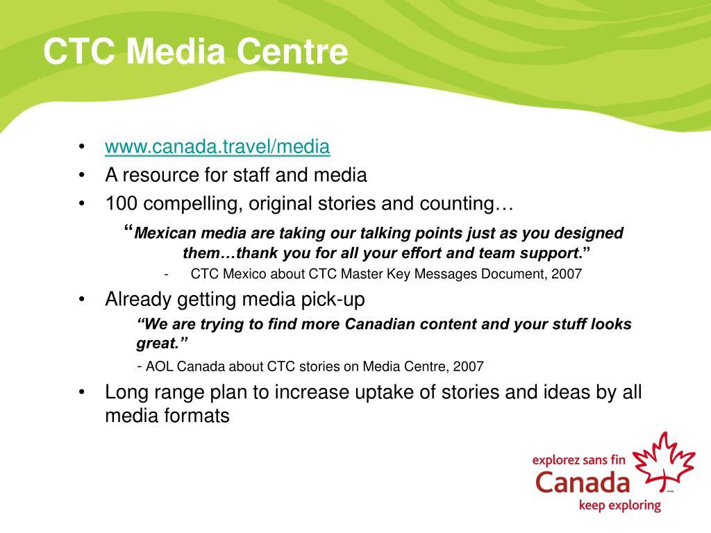 CTC Media Centre