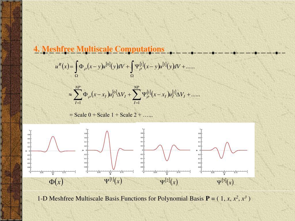4. Meshfree Multiscale Computations