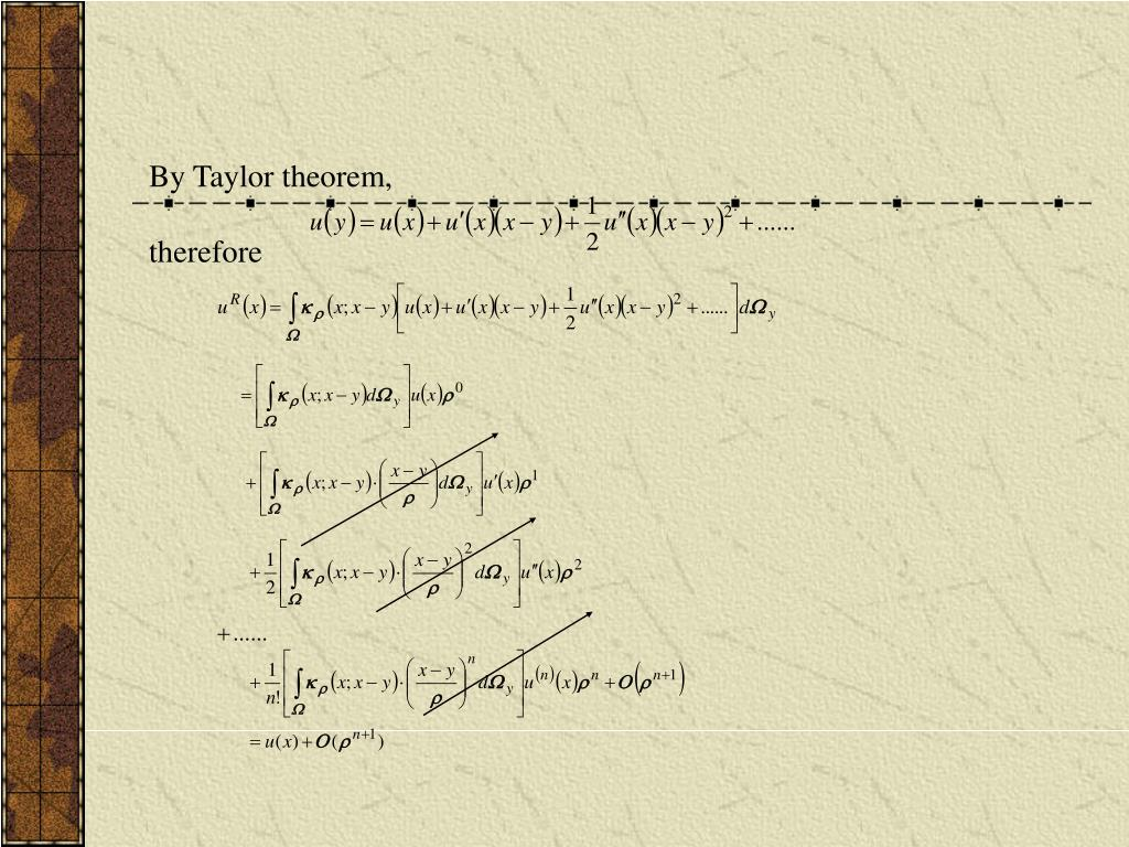 By Taylor theorem,