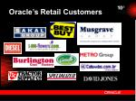oracle s retail customers