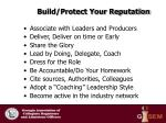 build protect your reputation