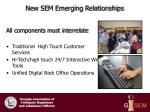 new sem emerging relationships