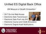 unified es digital back office
