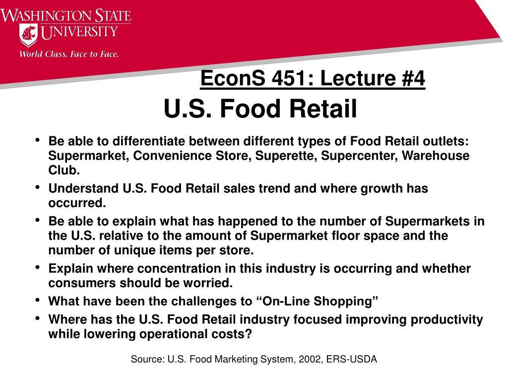 u s food retail l.
