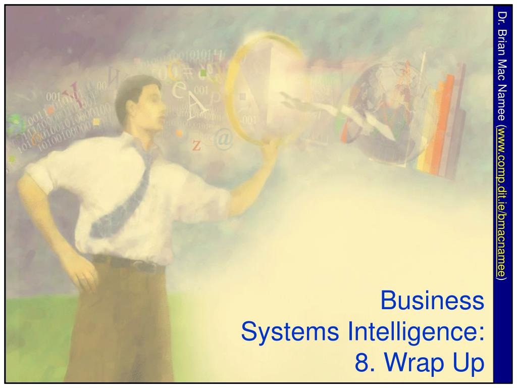 business systems intelligence 8 wrap up l.