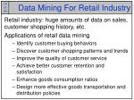 data mining for retail industry