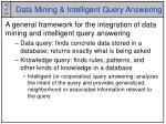 data mining intelligent query answering