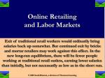 online retailing and labor markets19