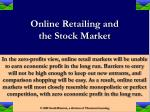 online retailing and the stock market24