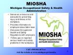 miosha michigan occupational safety health administration