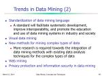trends in data mining 2
