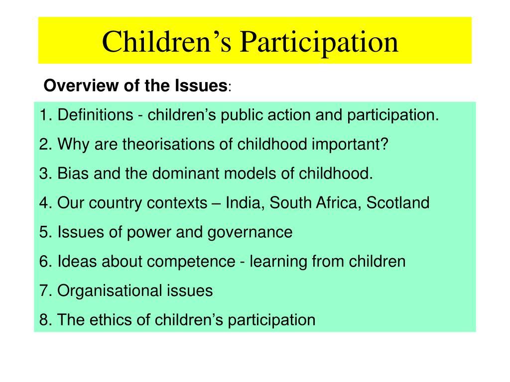 children s participation l.