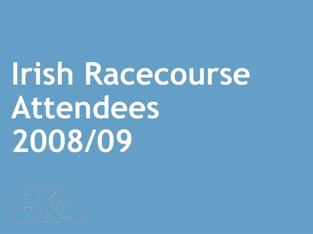 Irish Racecourse Attendees