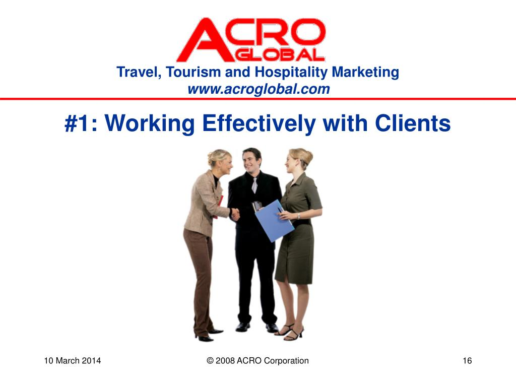 #1: Working Effectively with Clients