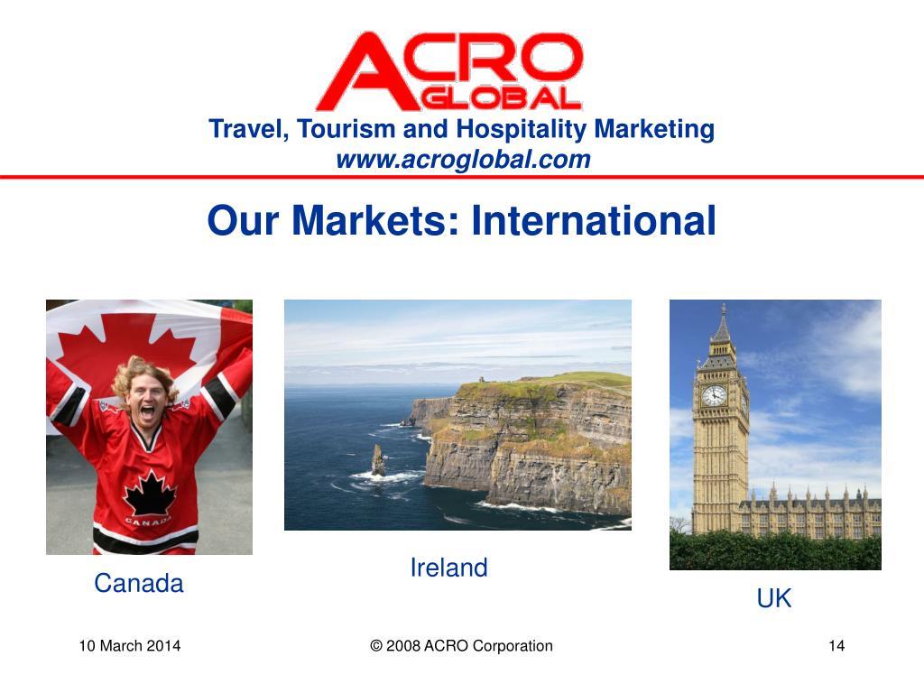 Our Markets: International