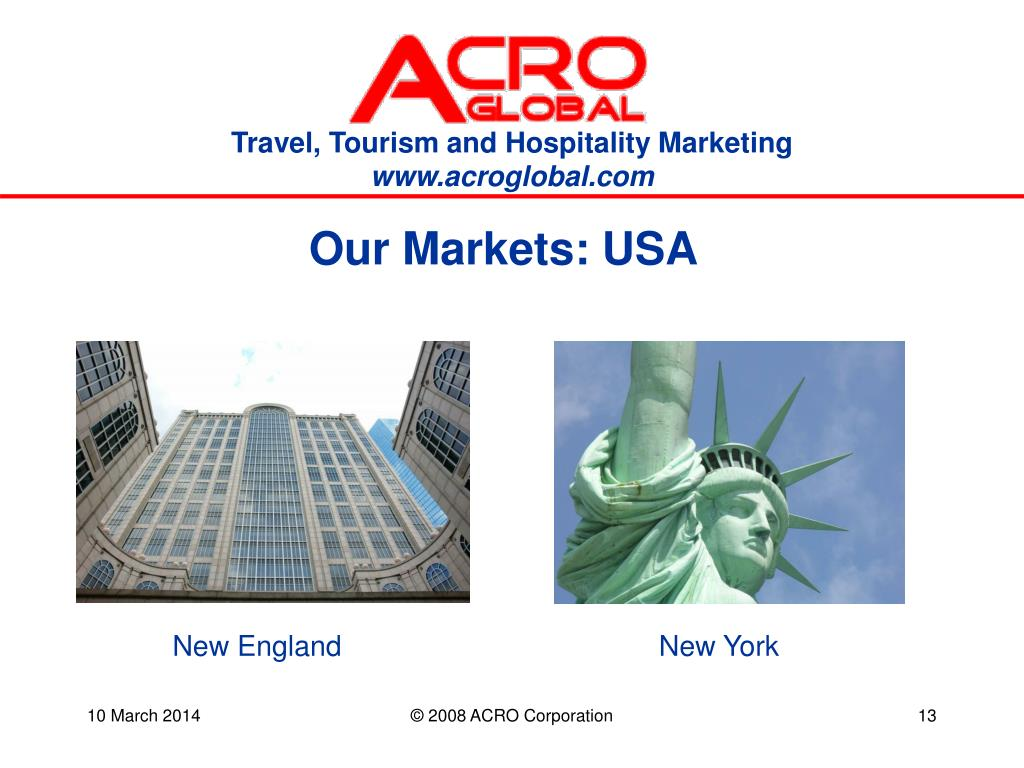 Our Markets: USA