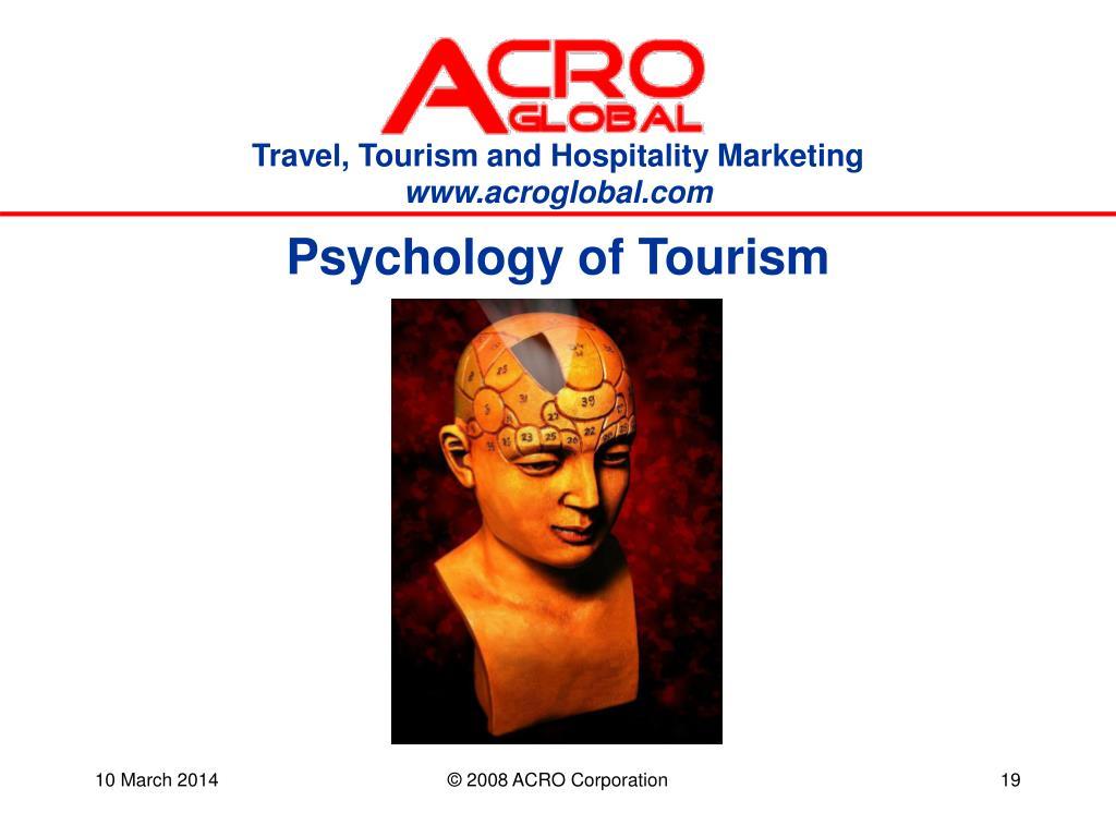 Psychology of Tourism