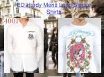 ed hardy mens long sleeve shirts3