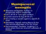 meningococcal meningitis18