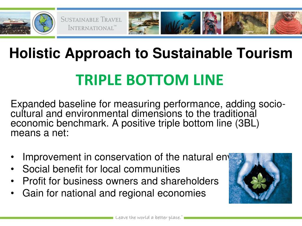 Holistic Approach to Sustainable Tourism