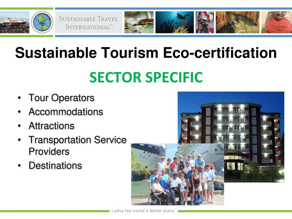Sustainable Tourism Eco-certification