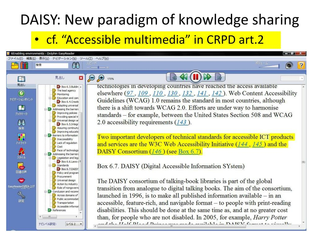 DAISY: New paradigm of knowledge sharing