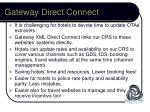 gateway direct connect