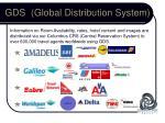 gds global distribution system