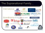 the supranational family