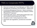tmc corporate rfps