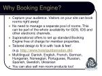 why booking engine