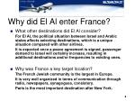 why did el al enter france8