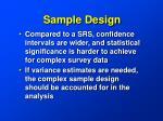 sample design13