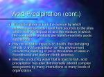 acid precipitation cont