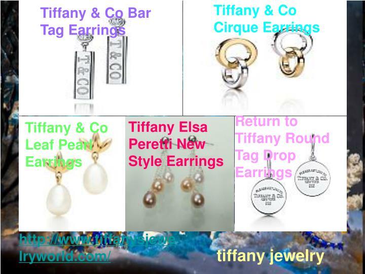 Tiffany & Co Cirque Earrings