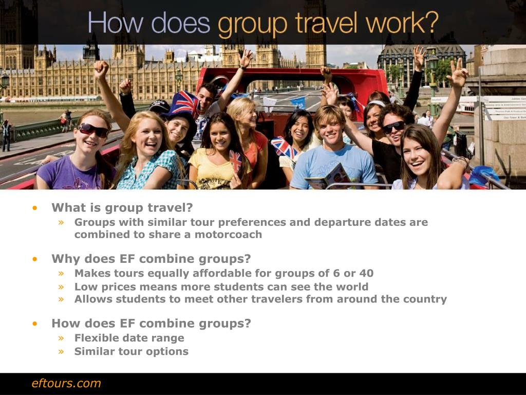 What is group travel?