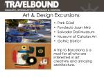 art design excursions