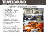 spanish language excursions