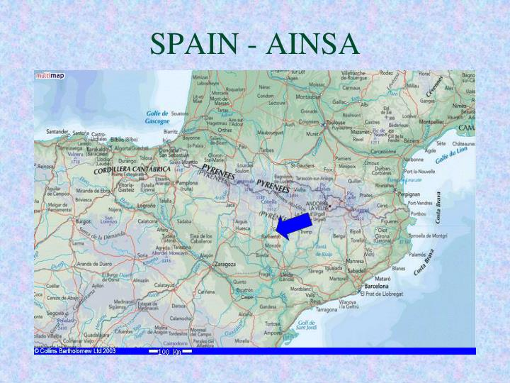 Spain ainsa