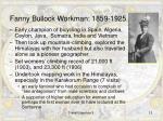 fanny bullock workman 1859 1925