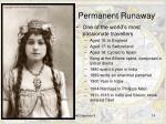 permanent runaway