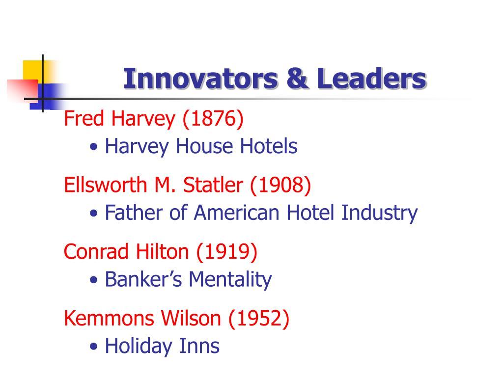 Innovators & Leaders