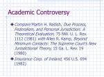 academic controversy
