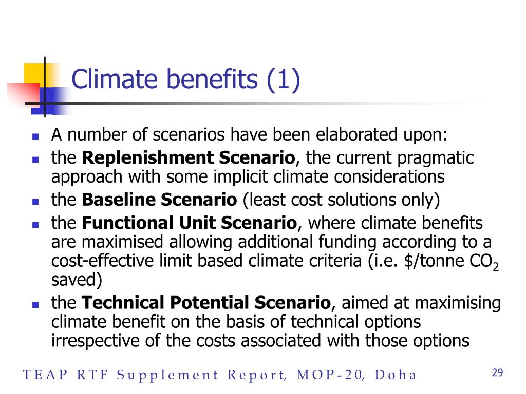 Climate benefits (1)